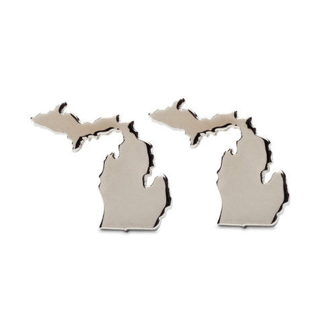 Stainless Steel Michigan Stud Earrings (MOQ 5)