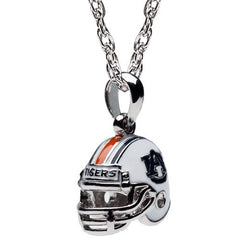 Auburn Football Helmet Charm Pendant Necklace (MOQ 2)