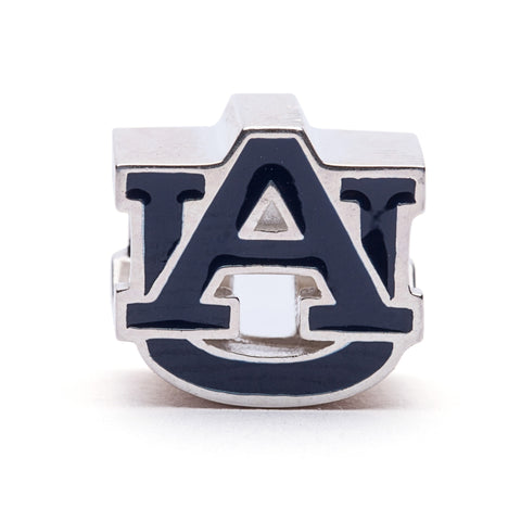 <B><I>BEST SELLER!</B></I> Auburn University AU Bead Charm Blue (MOQ 2)