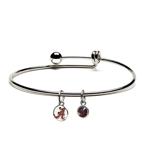 Alabama Crimson A Dangle Bangle (MOQ 2)