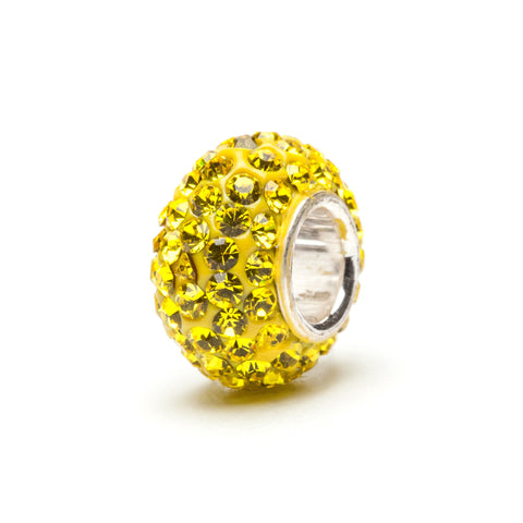 Yellow Crystal Charm (2 MOQ)