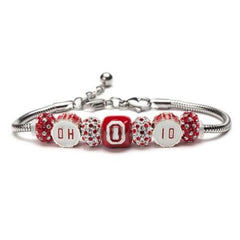 OH-IO Drum Set Bead  Charm Bracelet Jewelry