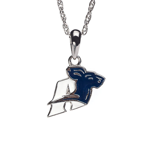 University of Akron Charm Pendant Necklace (MOQ 2)