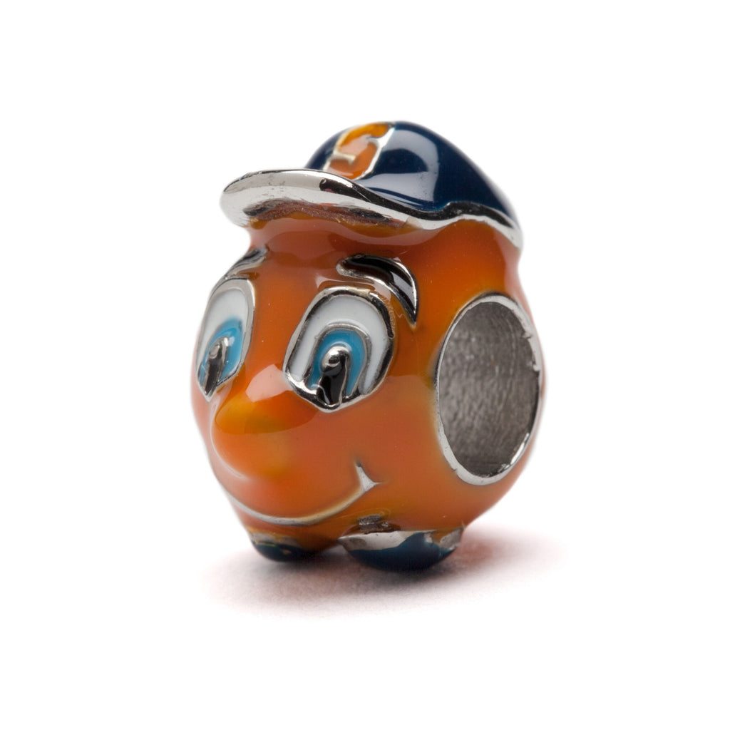 Syracuse Orange Mascot Bead Charm (MOQ 2)