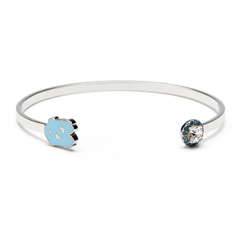 North Carolina Tarheels Bangle Bracelet (MOQ 2)