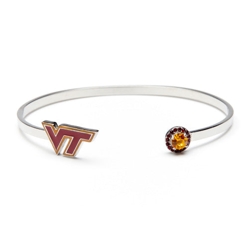 <B><I>NEW!</B></I> Virginia Tech Bangle Bracelet (MOQ 2)