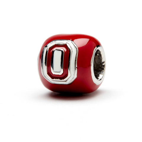 <B><I>BEST SELLER!</B></I> Two Sided Ohio State Jewelry Scarlet (MOQ 2)