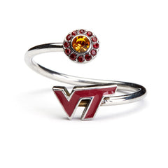 <B><I>NEW!</B></I> Virginia Tech Hokies Wrap Ring (MOQ 2)