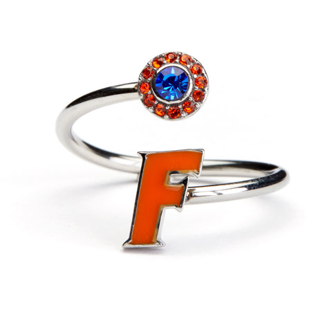<B><I>BEST SELLER!</B></I> Florida Gators Ring – Orange F (MOQ 2)