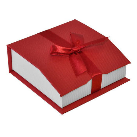 Red Magnetic Ribbon Box - For Bracelet or Bangle (MOQ 2)