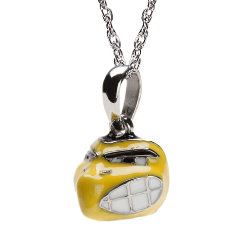 Iowa Hawkeye Charm Pendant with Necklace Chain (MOQ 2)