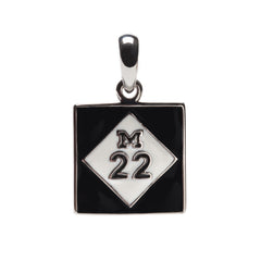 Michigan M22 Charm Pendant with Necklace Chain (MOQ 2)