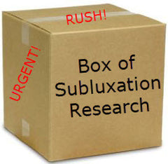 Box of Vertebral Subluxation Research