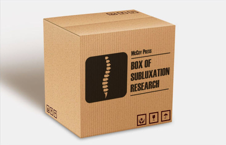 Box of Subluxation Research - Regular Subscriber