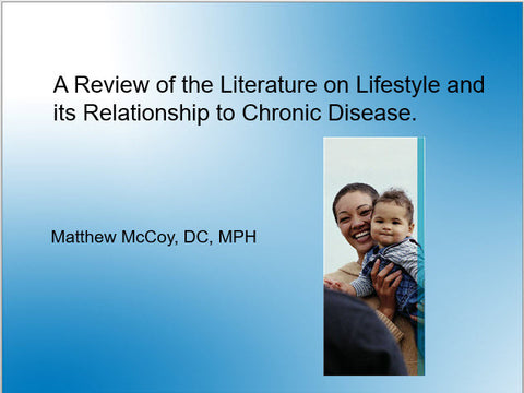 Chronic Lifestyle Diseases and Their Prevention - Educational Presentations