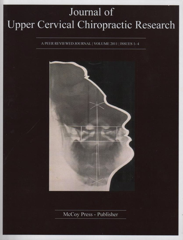 Print Edition - Journal of Upper Cervical Chiropractic Research. Volume 2011. Issues 1-4.