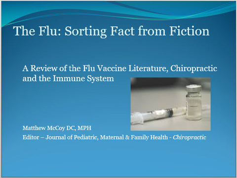 The Flu - Educational Presentations