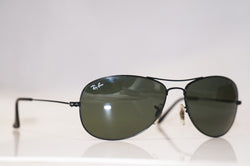 RAY-BAN 1990 Vintage Womens Designer Sunglasses Black Onyx WO 807 14272