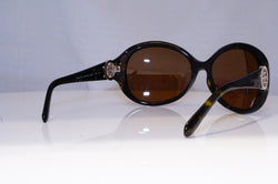 CHANEL Boxed Vintage Womens Designer Crystal Sunglasses Brown 5065 C714 13 14560