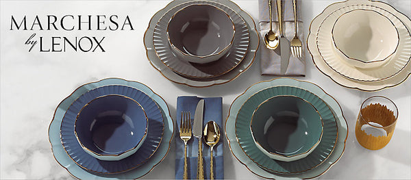 Marchesa shades  collection by lenox 4 pps