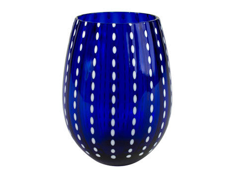 Cambria Glassware -  Cobalt blue 3 different styles comes in sets of 2