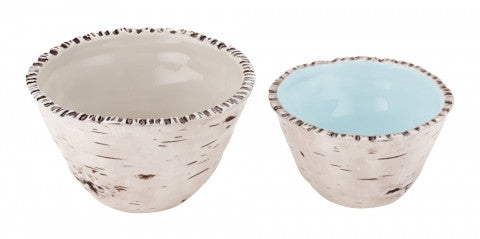 Birch Nested Bowls Set of 2 by Magenta