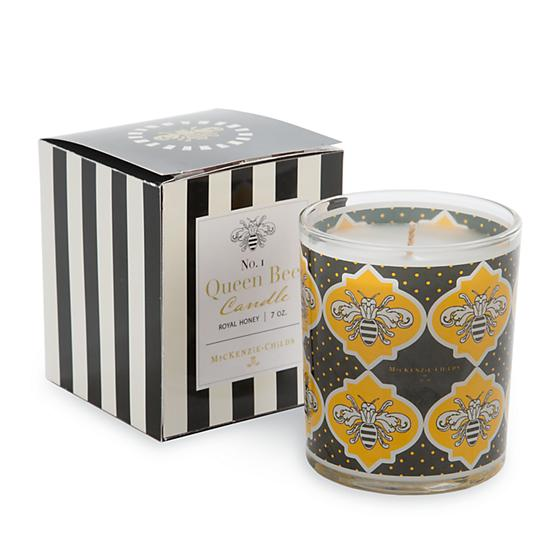 Queen Bee Candle - 7 oz. by Mackenzie Childs