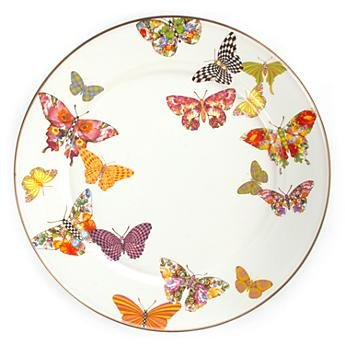 Butterfly Garden 16' serving platter by Mackenzie Childs
