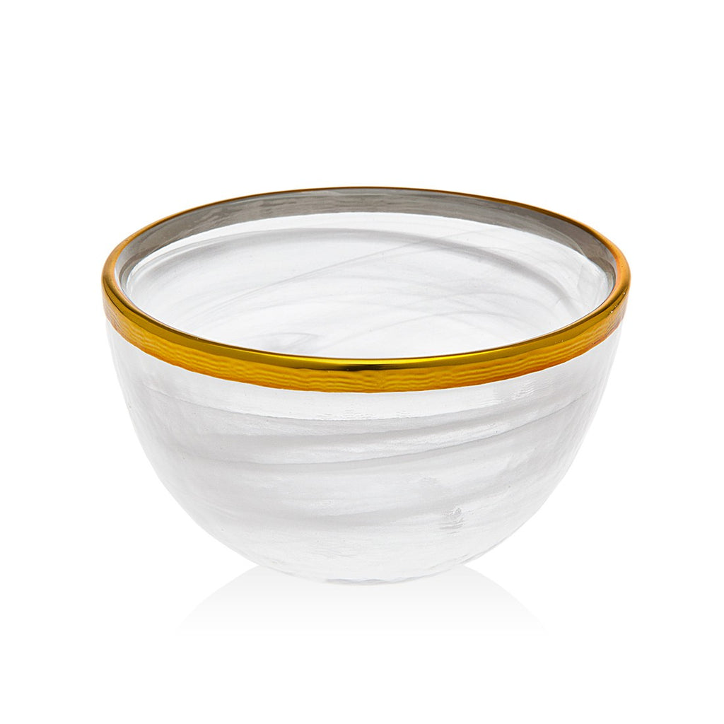 Alabast Wht.gold 4 Bowl