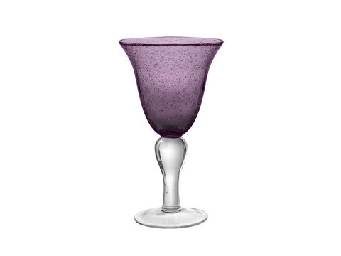 Iris Goblet set of two - 4 color choices