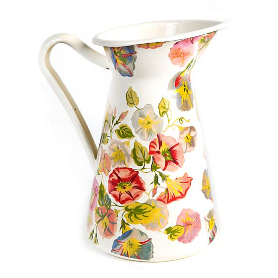 Morning Glory Practical Pitcher - Large by Mackenzie Childs