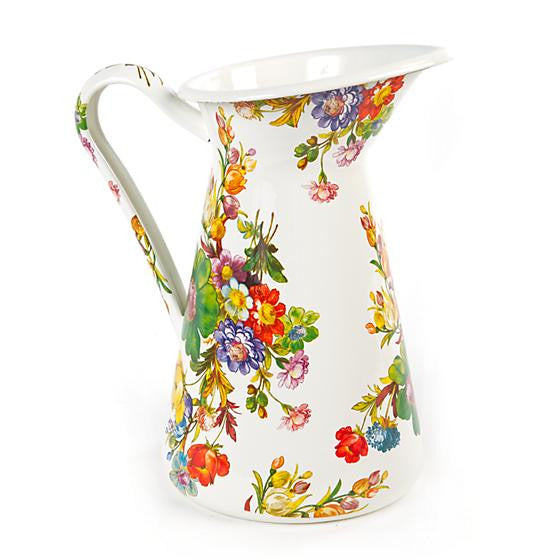 Flower Market Practical Pitcher - Large by MacKenzie-Childs