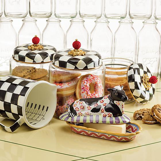 Courtly Check Kitchen Canister - Medium by Mackenzie Childs