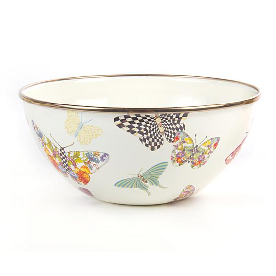 Butterfly Garden Serving bowl by Mackenzie Childs