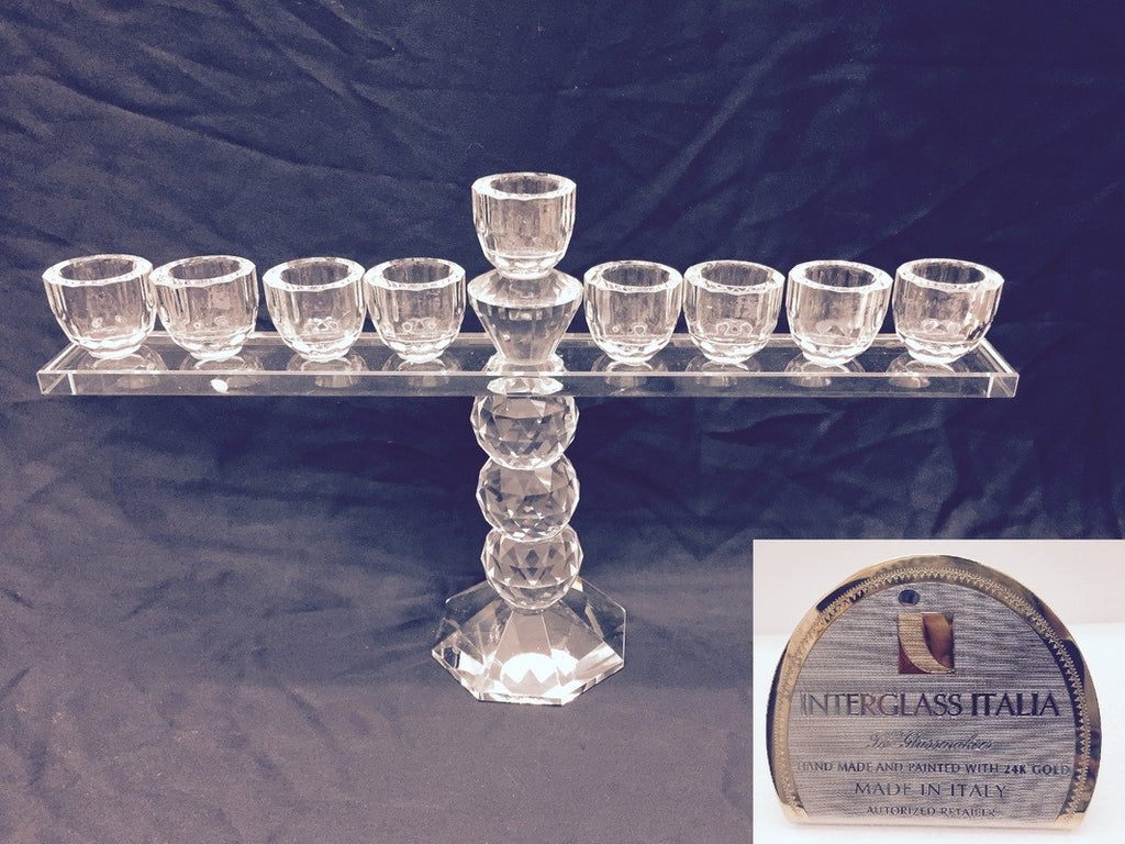 Menorah crystal
