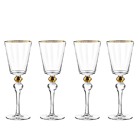 Dominion Goblets in Gold or platinum (Set of 8)
