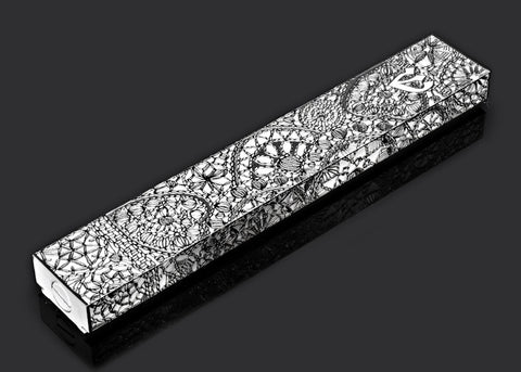 Metal Lace hippie shick  XL mezuzah