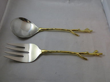 New Twig Gold Salad Set