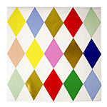 Toot Sweet Harlequin Pattern Large Napkins