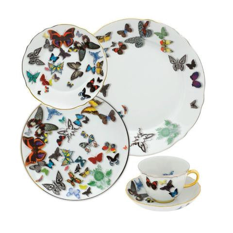 Butterfly Parade by Christian Lacroix tea cup and saucer