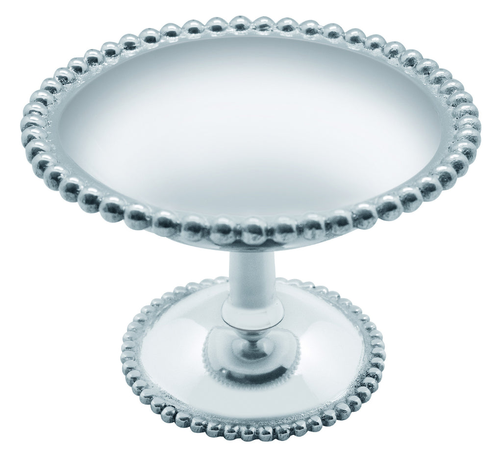Pearled Footed Candy Dish by Mariposa