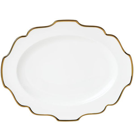 "Contempo Luxe 13"" Oval Platter by Lenox"