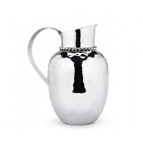 Paloma Pitcher w/ Braided Wire by Mary Jurek