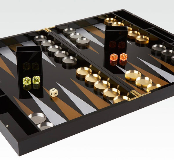 Metallic Backgammon set