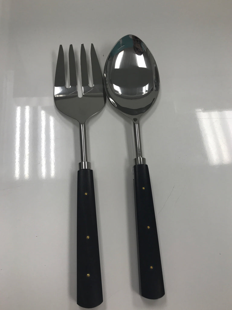 Wrangler salad server set