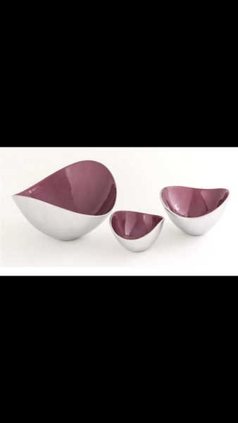 organic bowl in wine or storm grey