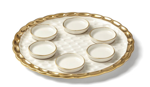 Seder plate by Michael Wainwright