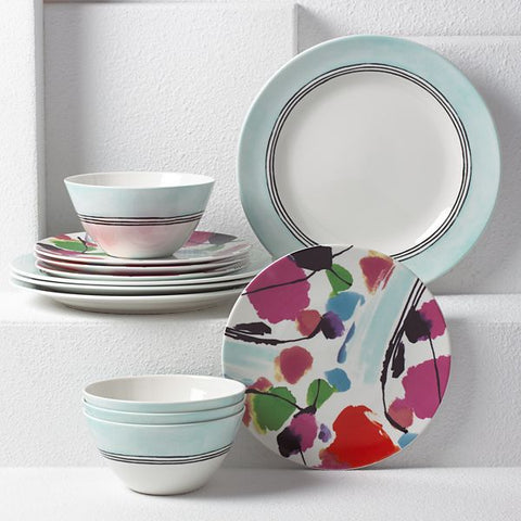 Manarola 12-piece or 4 piece  Dinnerware Set by Lenox