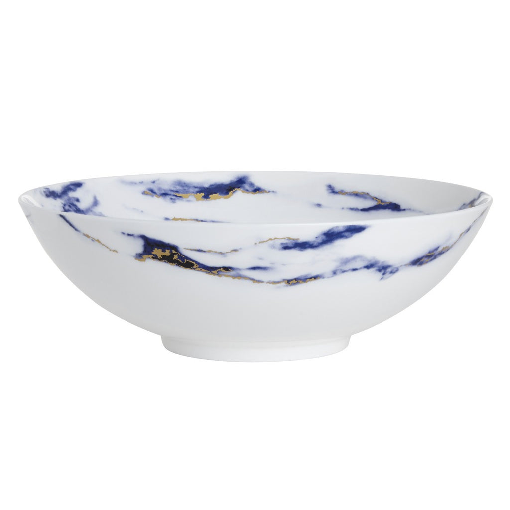 Marble Serving Bowl, Azure by Prouna