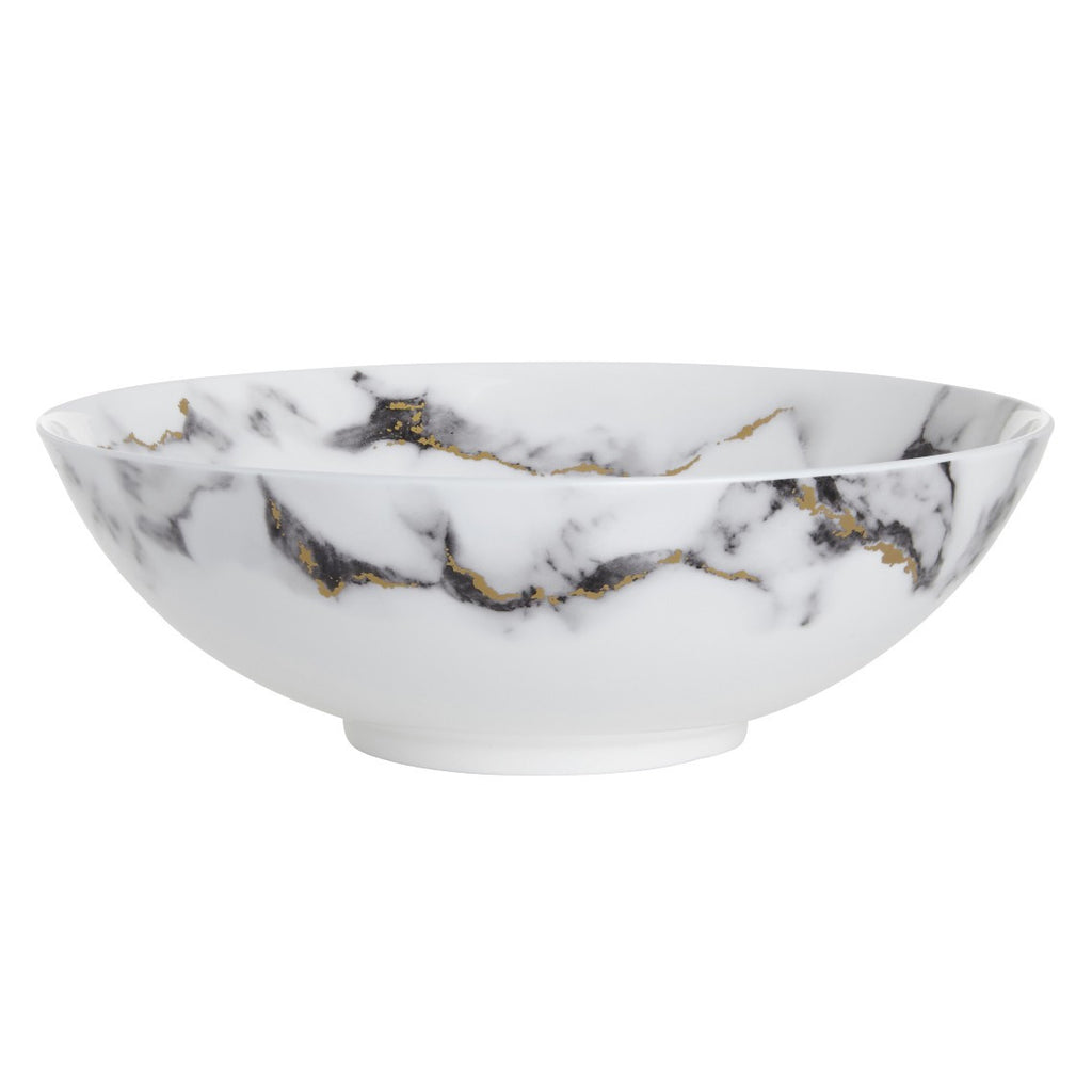 Marble Serving Bowl, Venice Fog  by Prouna